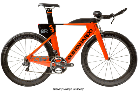 2017 Quintana Roo PRsix Ultegra 6800 (Orange) - 52cm - New - Full Warranty
