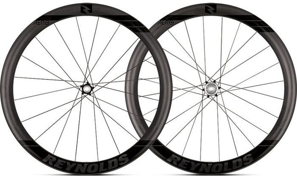 2018 Reynolds Aero 46 DB Carbon Clincher Wheel Set - 3-Year RAP Included Free!