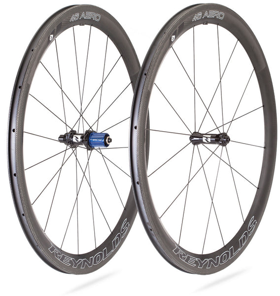 2017 Reynolds 46 Aero Carbon Clincher Wheel Set