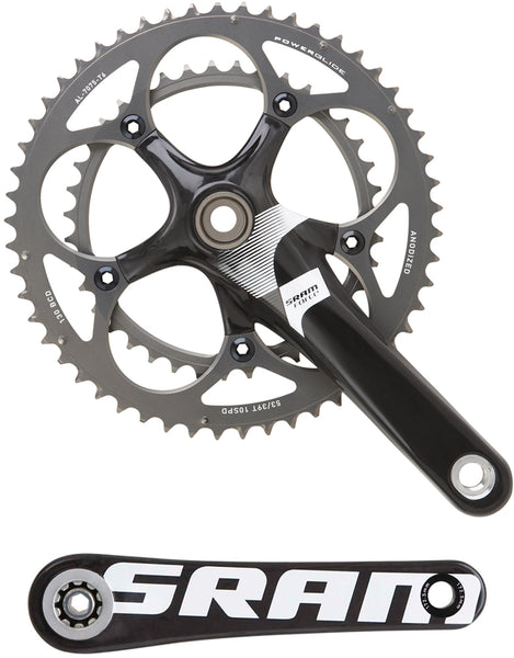 SRAM Force 10-Speed Crankset - 50/34t - 172.5mm - 110BCD - BB30