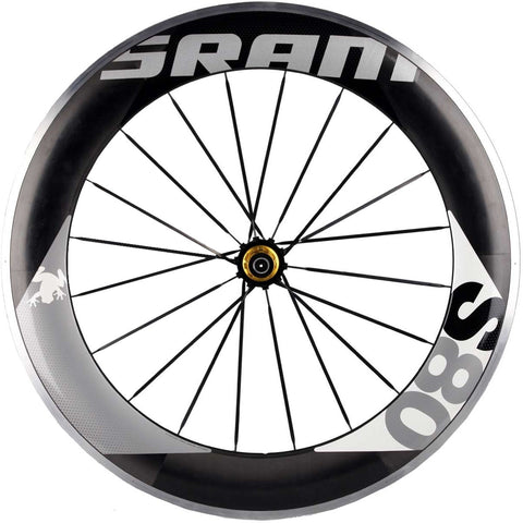 2012 SRAM S80 Rear Clincher Wheel