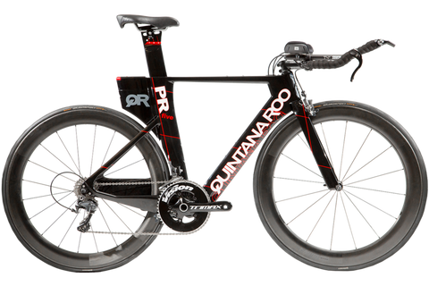 2018 Quintana Roo PRfive Ultegra (Black/Red) - 54cm - Incentives Available!