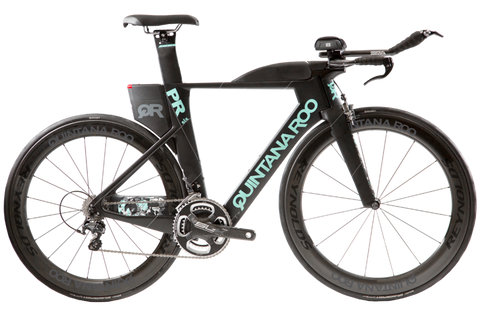 2017 Quintana Roo PRsix Ultegra 6800 (Black/Teal) -52cm - New - Full Warranty