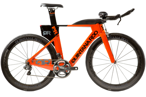 2017 Quintana Roo PRsix Ultegra Di2 - Orange/Black - 54cm - Open Box/Demo