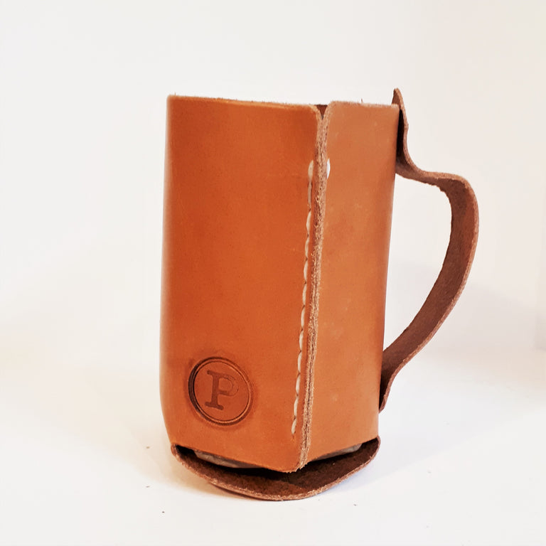 Leather Drink Coozie (Cozie)