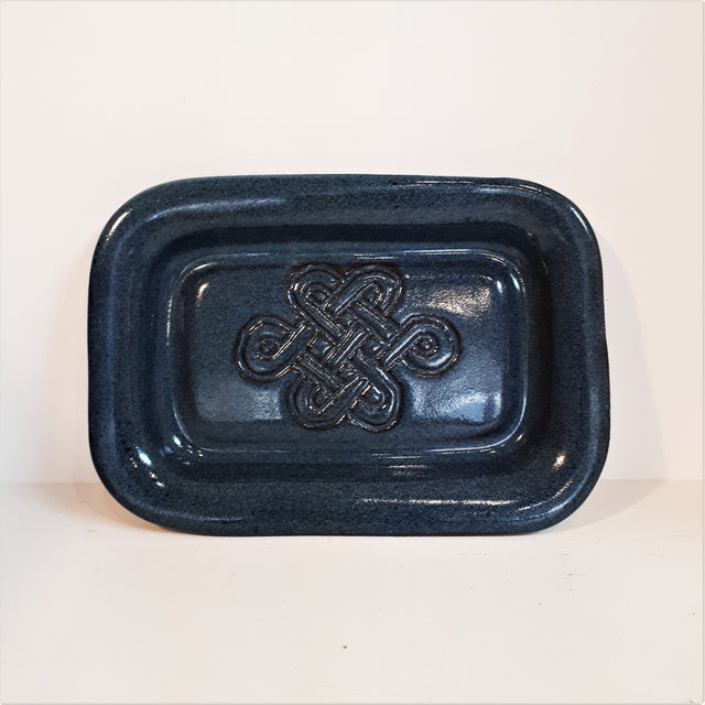Blue Celtic Knot Little Tray