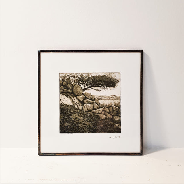 Framed Print - THE WEST WIND