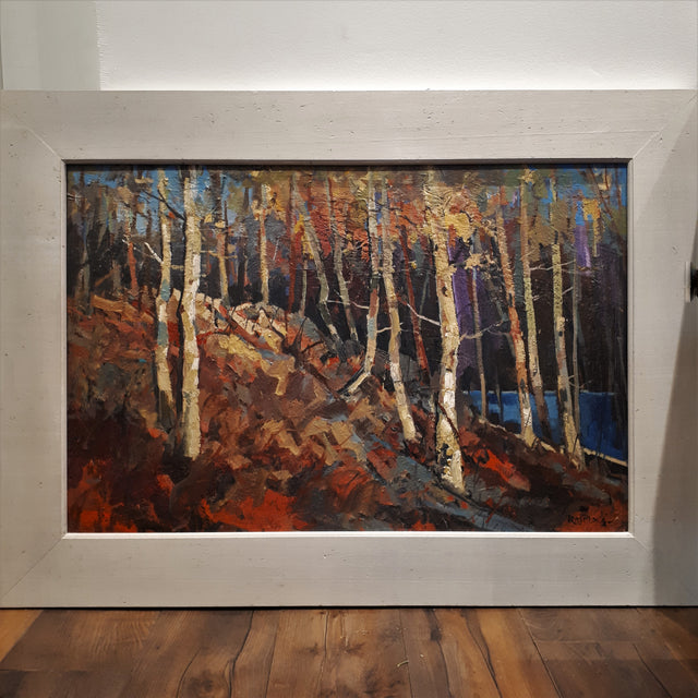 Original Painting, Acrylic on Board - MEAFORD HILLS