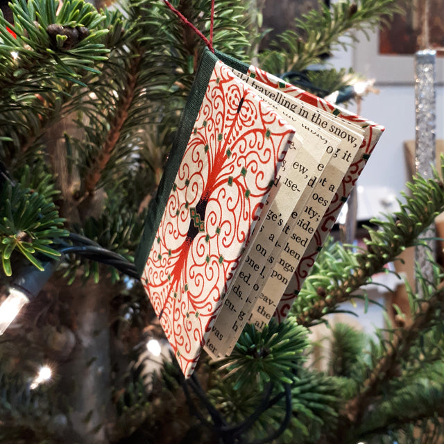 Mini-book Ornament