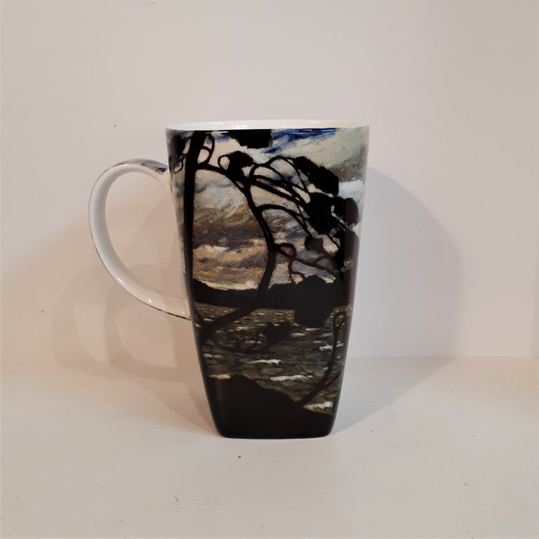 Fine Bone China Mug Grande - THE WEST WIND, Tom Thomson