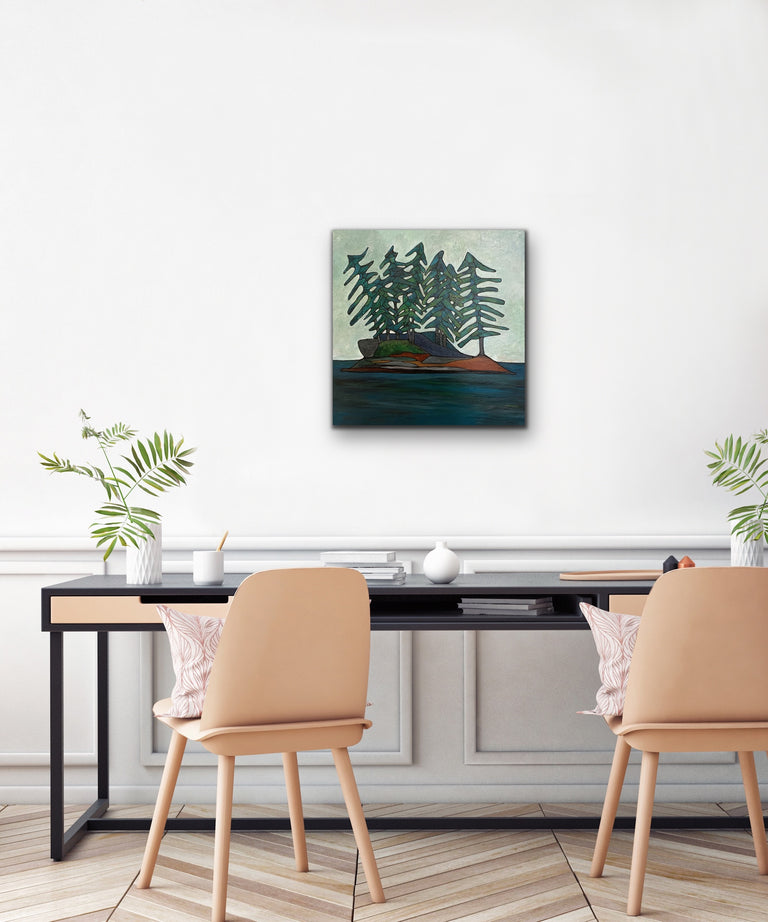 Original Painting, LITTLE ISLAND