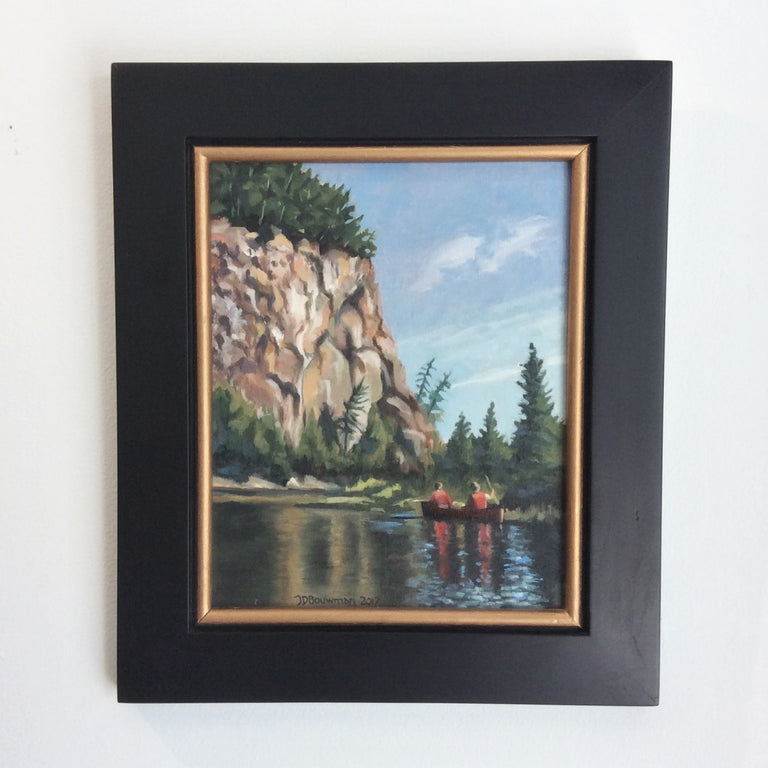 Original Oil - ALGONQUIN SPLENDOR