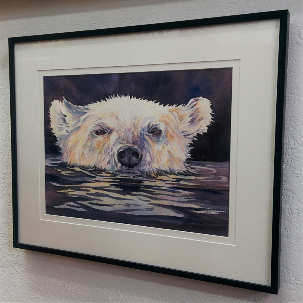 Framed Original Watercolour - ARCTIC SPIRIT