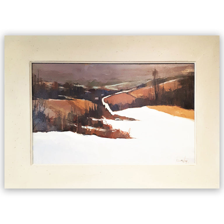 Original Painting, Oil on Board - ROLLING HILLS, MEAFORD