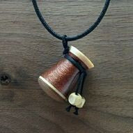 Essential Oils Diffuser Pendant - Maple, Bloodwood, Black Walnut