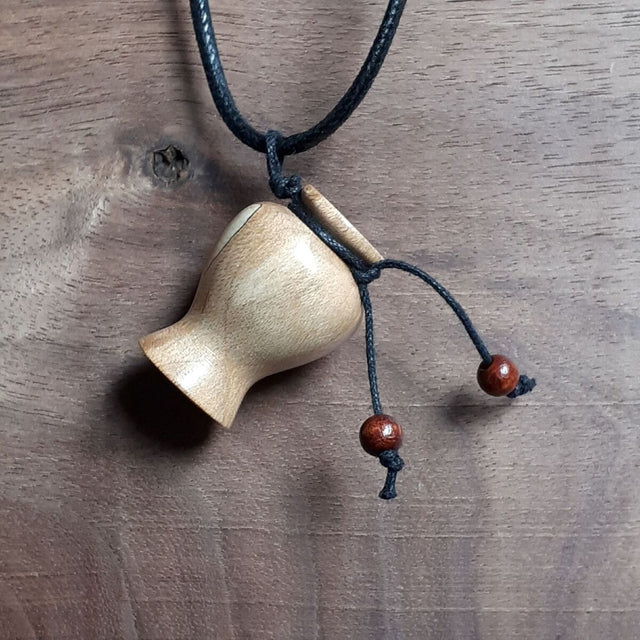 Essential Oils Diffuser Pendant - Maple, Spalted