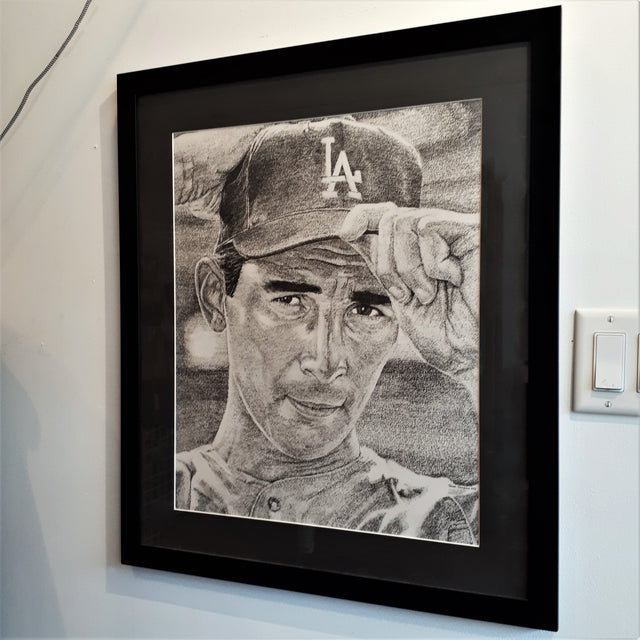 Original Repetitive Number Drawing - SANDY KOUFAX (1965-10-06)