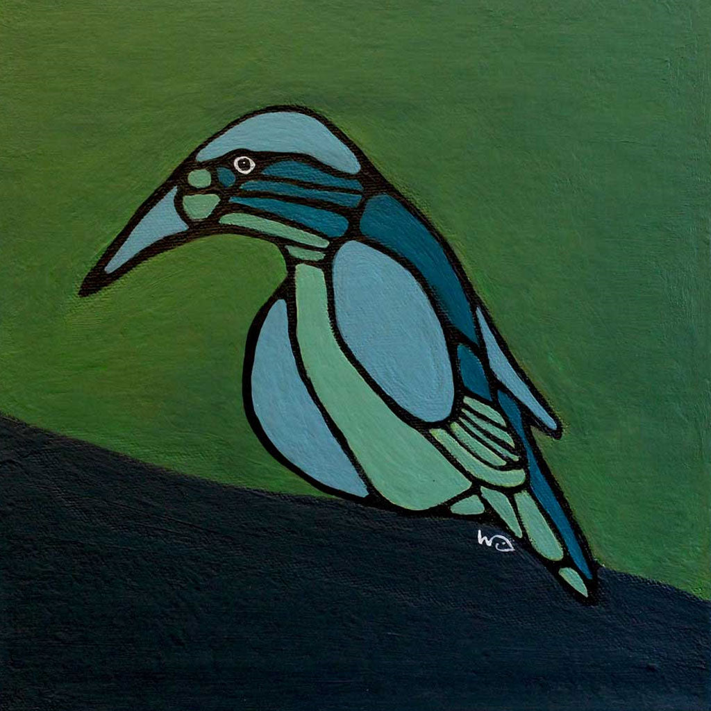 Original Painting: Blue Bird
