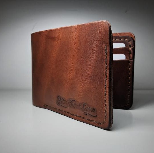 Bucklaw Men's Leather Wallet - Brown or Black