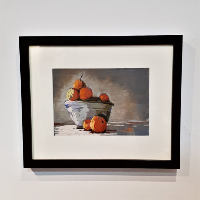 Original Pastel Still Life - CITRUS