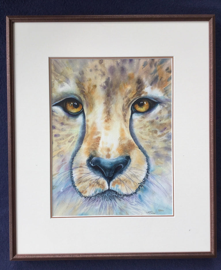 Framed Original Watercolour - COMPELLING