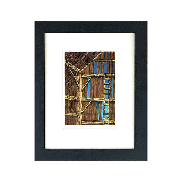 Framed Limited Edition Print - EMPTY HAYLOFT