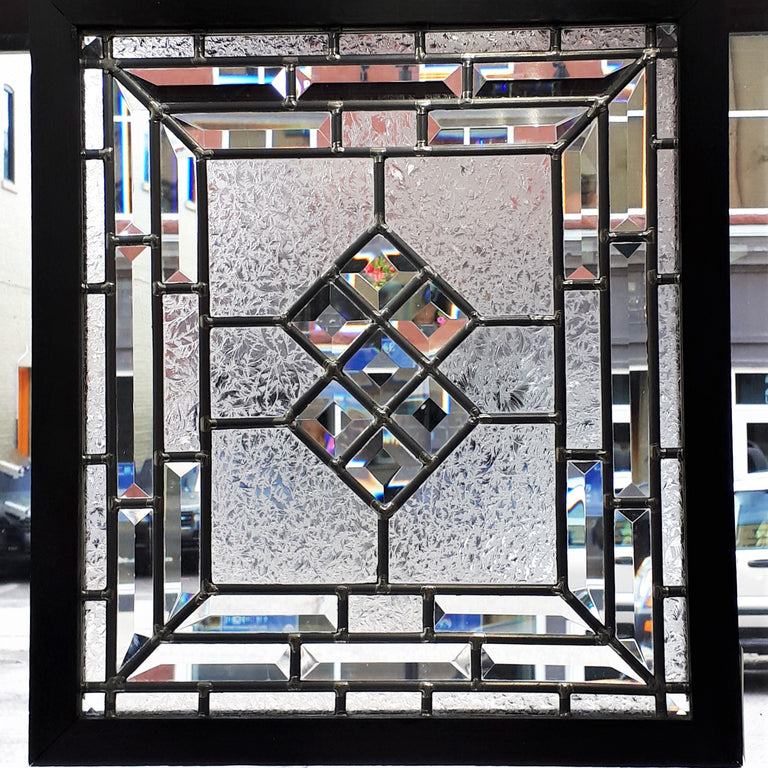 Stained Glass - Connected Diamonds