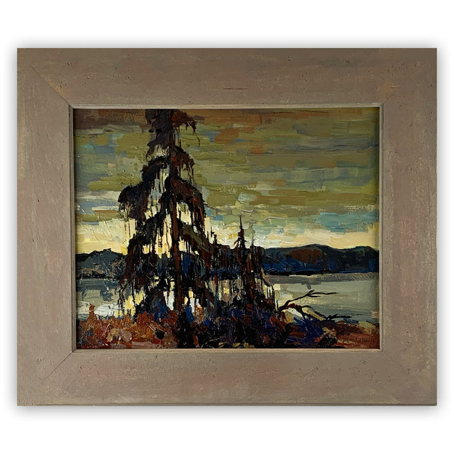 Original Painting - NORTHERN PINE, AFTER TOM THOMSON