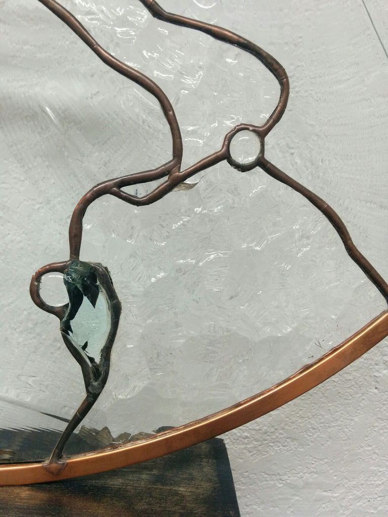 Glass Design Art Piece