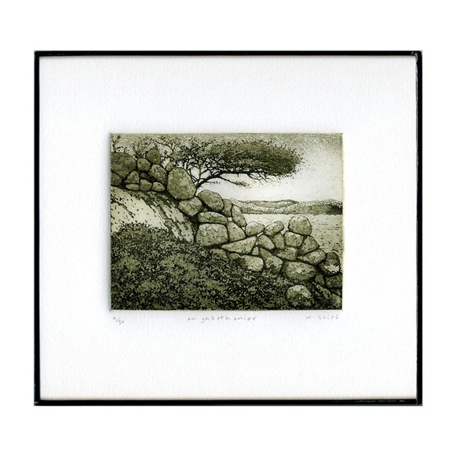 Framed Limited-Edition Etching - The West Wind