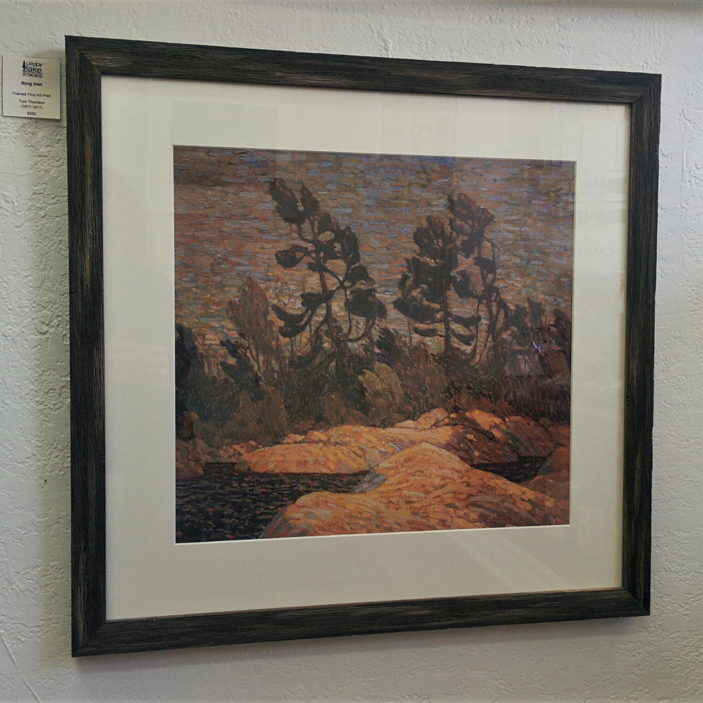 Framed Large Group of Seven Print - Tom Thomson - Byng Inlet, 1915