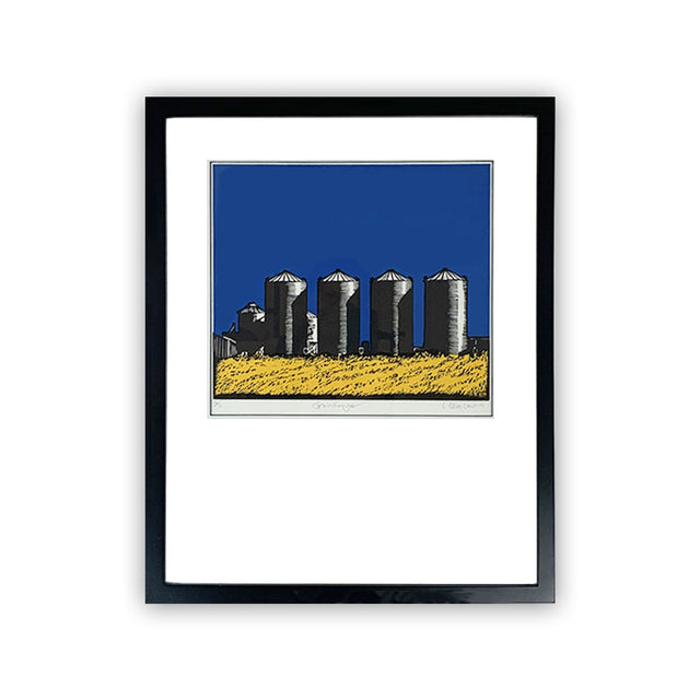 Framed Limited Edition Print - GRAIN HENGE
