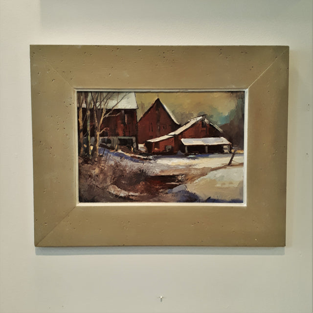 Original Painting, HURON COUNTY FARM