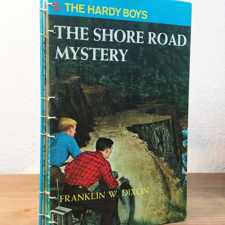 Journal/Sketchbook - Hardy Boys The Shore Road Mystery
