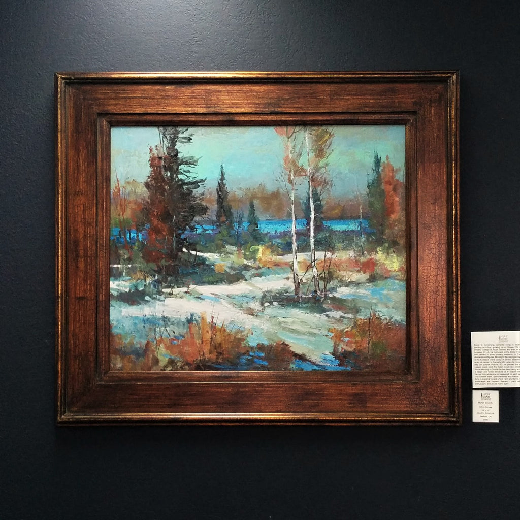 Original Painting, Oil - HURON COUNTY