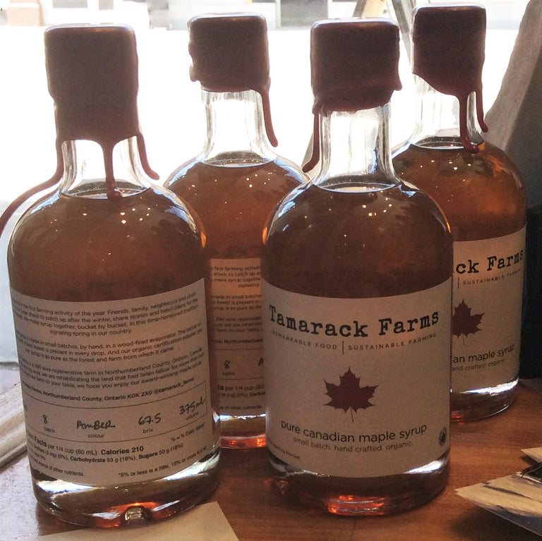 Maple Syrup from Tamarack Farms