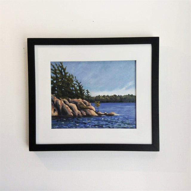 Original Oil - HAROLDS PT, KILLBEAR PROVINCIAL PARK