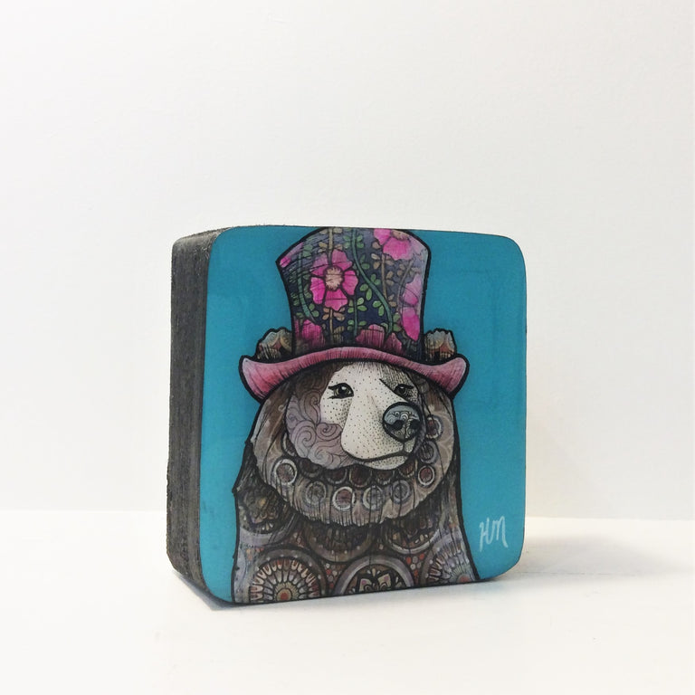 Original Work - BEAR WITH HAT