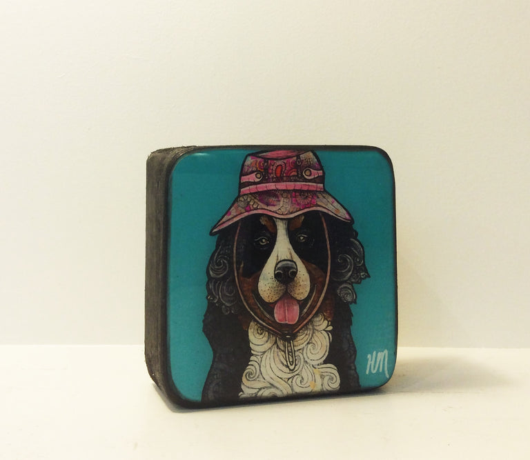 Original Work - BERNESE WITH HAT