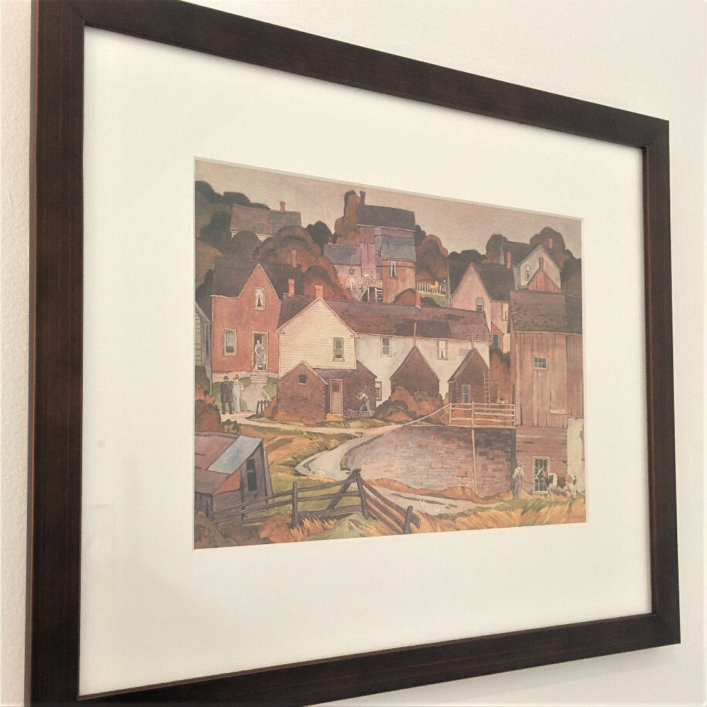 Group of Seven Framed Print - A. J. Casson - Saturday Afternoon