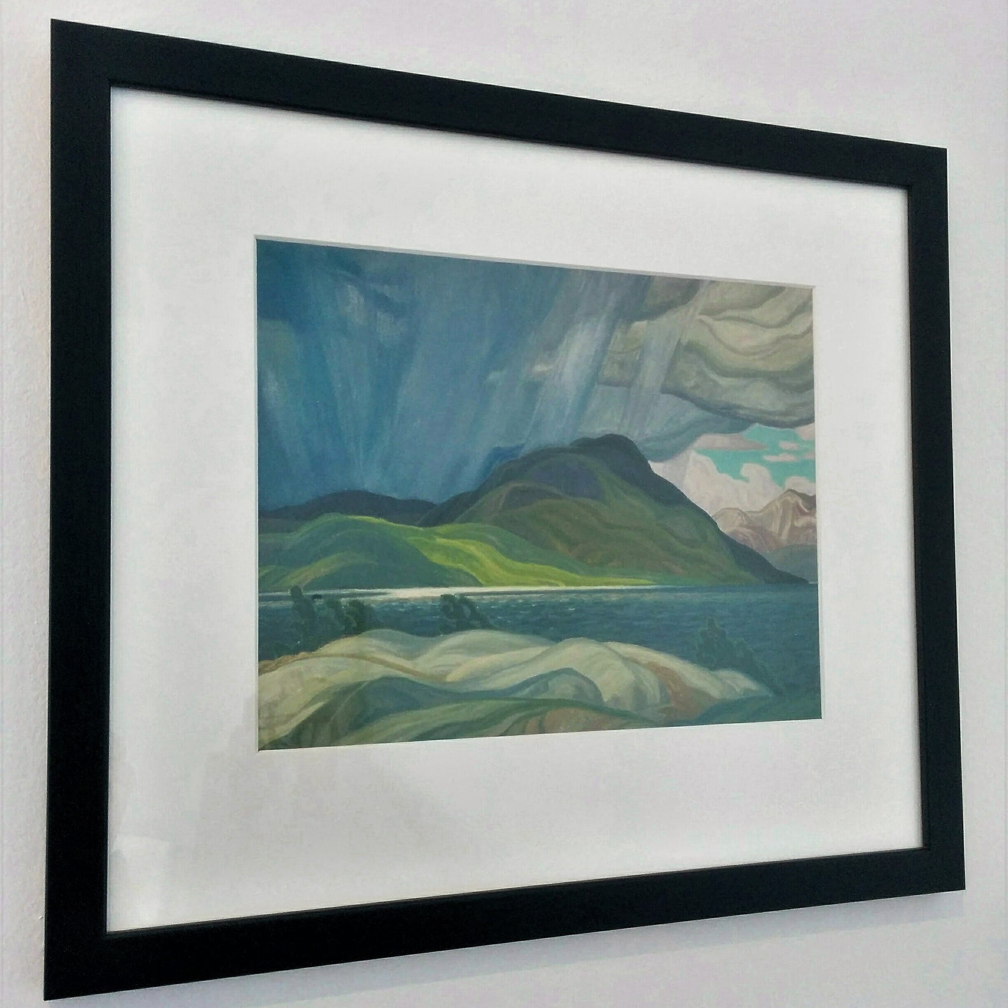 Group of Seven Framed Print - Franklin Carmichael - Lake Wabagishik
