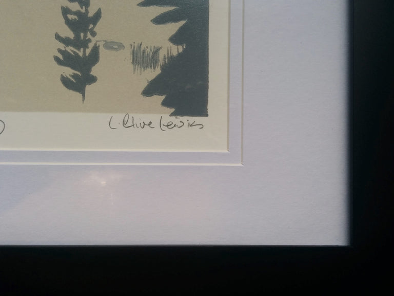 Framed Numbered Engraving - Mattawa Morning