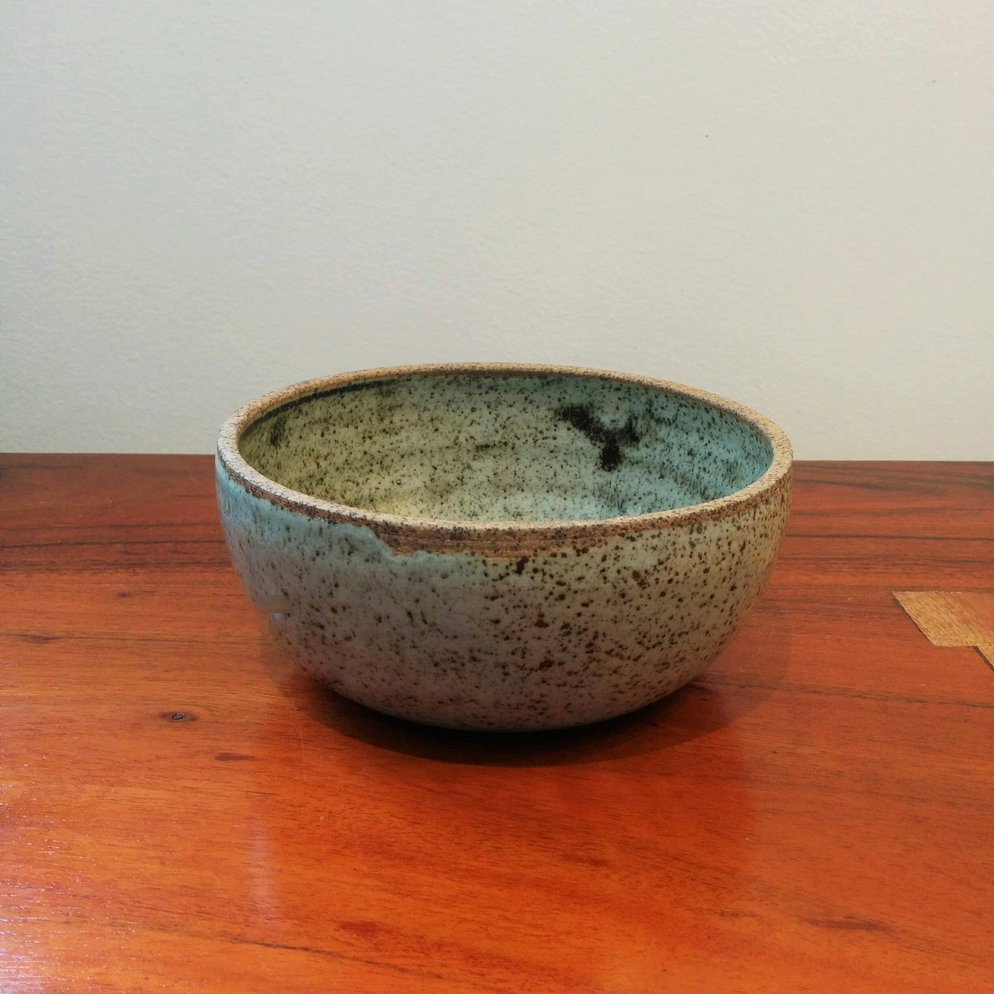 Speckled Pottery Bowl
