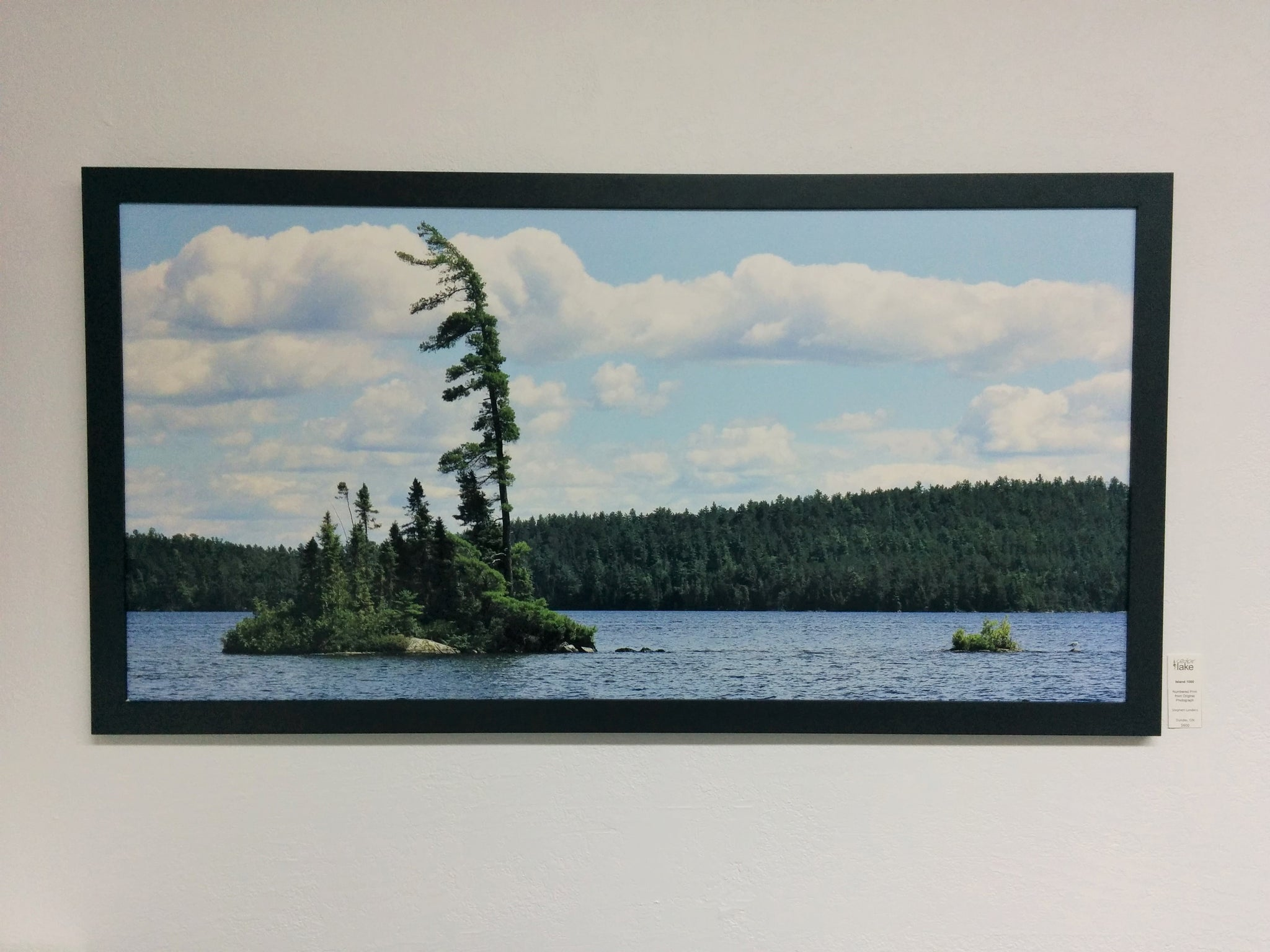 Art Photography - Framed Numbered Print - Island1,000