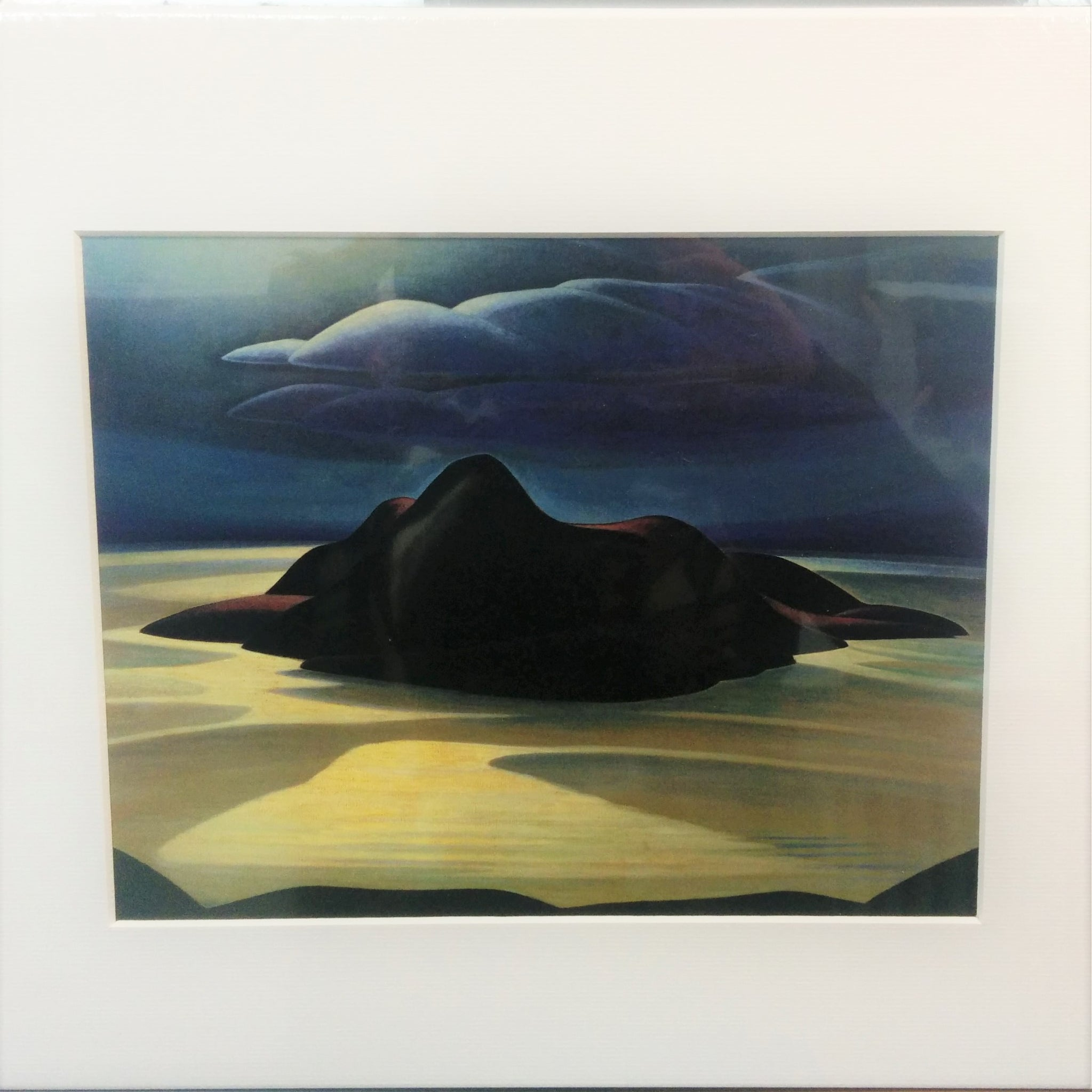 Group of Seven Matted Print - Lawren S. Harris - Pic Island
