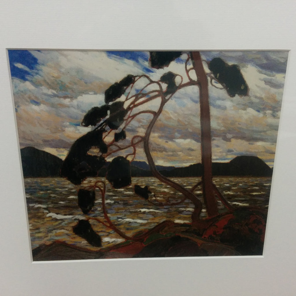 Group of Seven Matted Print - Tom Thomson - West Wind