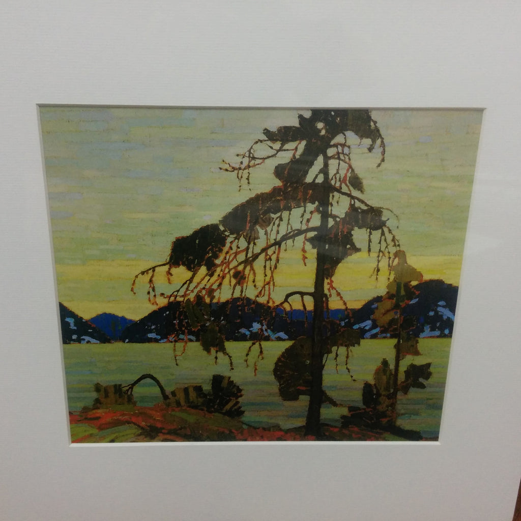 Group of Seven Matted Print - Tom Thomson - The Jack Pine