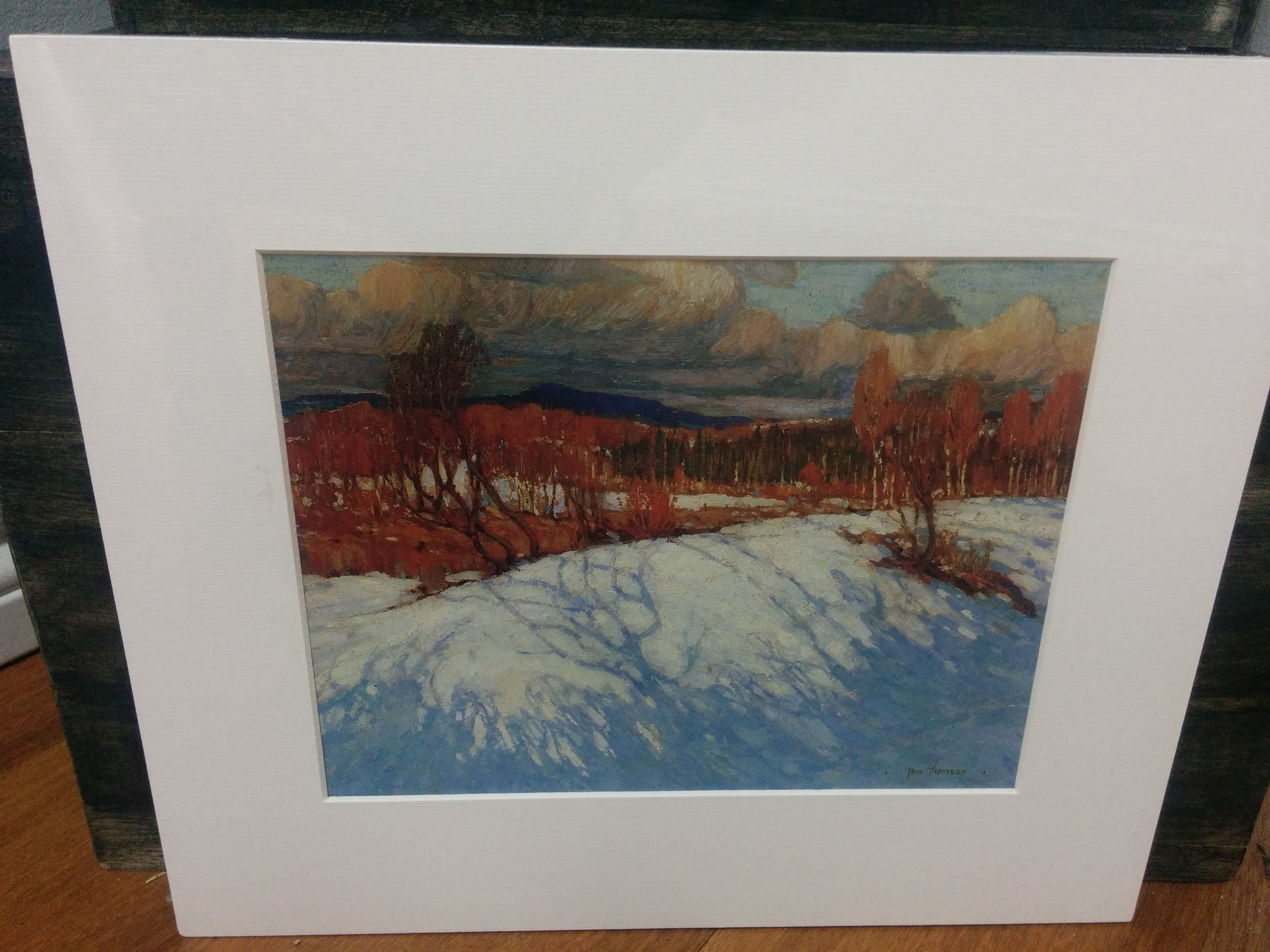 Group of Seven Matted Print - Tom Thomson - Afternoon, Algonquin Park