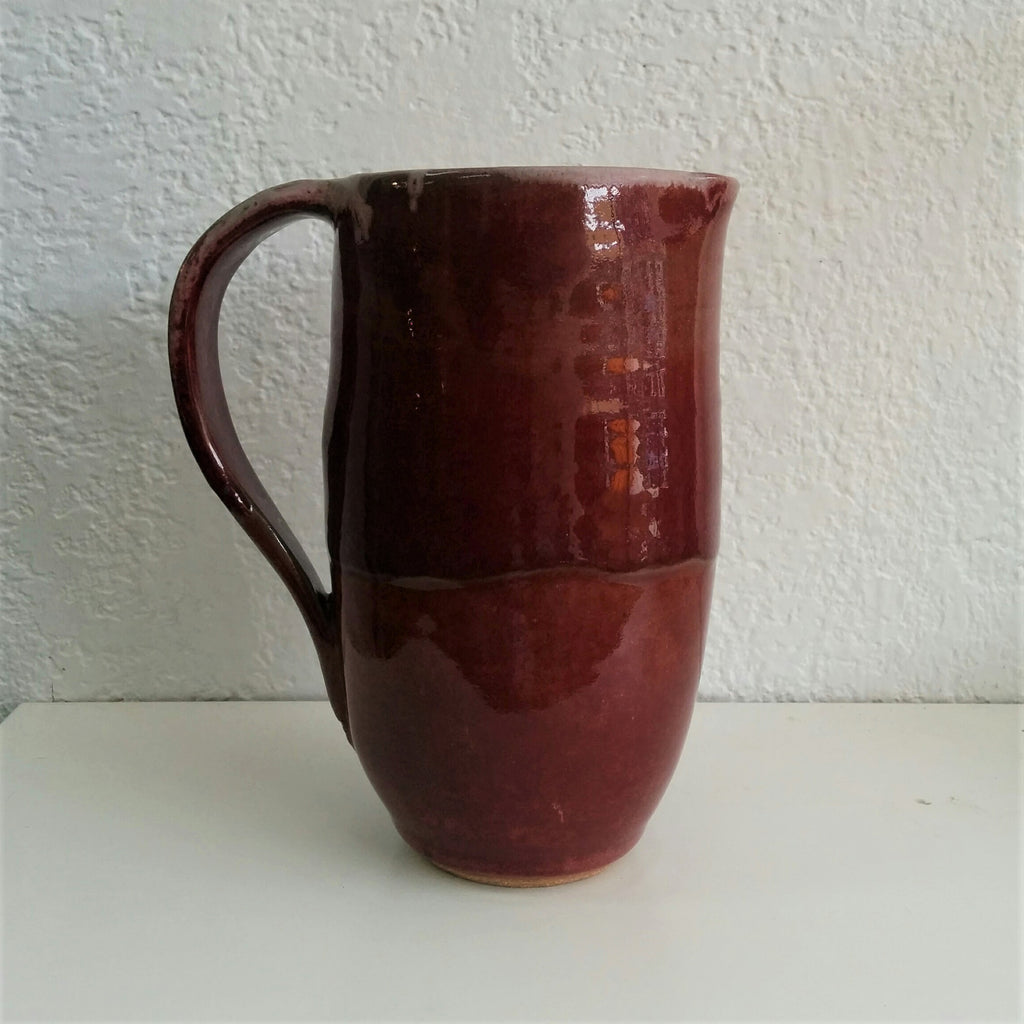 Pottery Pouring Vessel - Red