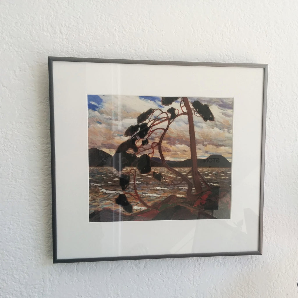 Framed Group of Seven Print - Tom Thomson - West Wind 1917